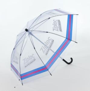 ジップロック傘の写真です