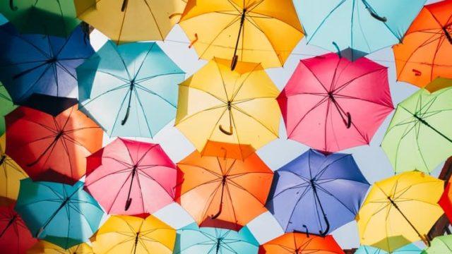 傘のイメージ写真です