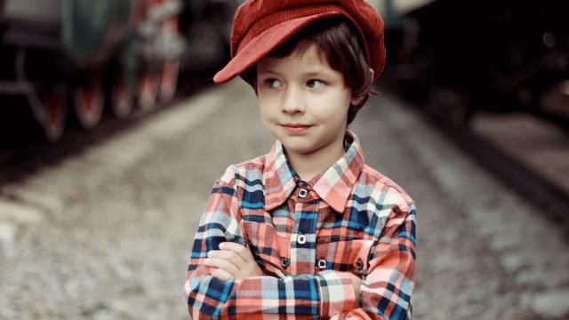 男の子のイメージ写真です