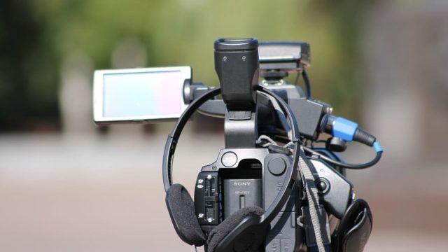 ビデオカメラのイメージ写真です