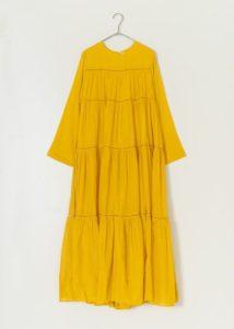 35歳の少女4話で柴咲コウが着ていたワンピースCotton Voile Tiered Maxi Dress